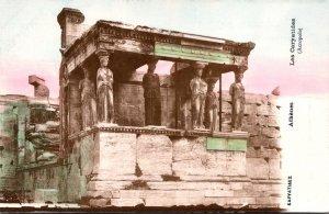 Greece Athens Les Caryatides Acropole