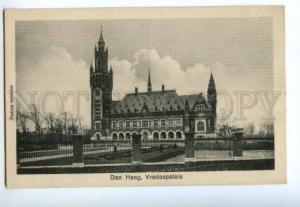 158388 Netherlands Hague DEN HAAG Palace of Peace Vintage PC
