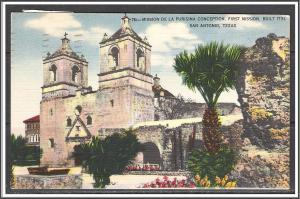 Texas, San Antonio Mission De La Purisima Conception - [TX-029]