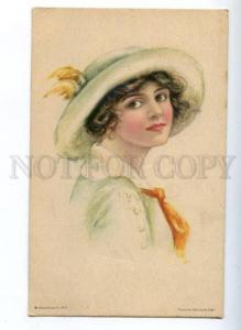 161488 BELLE in Hat by Alice Luella FIDLER Vintage EGCo. PC