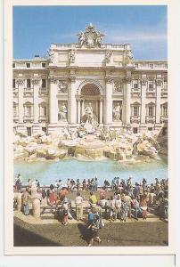Postal 046253 : Roma . Fontana di Trevi