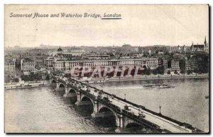 England - England - London - London - Somerset House and Waterloo Bridgel - O...