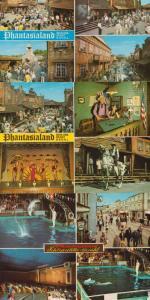 Phantasialand Performing Dolphins Puppet Show Cabaret 3x German 1970s Postcard s