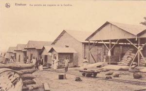 Belgian Congo Kinshasa Vue partielle des magasins de la Comfina