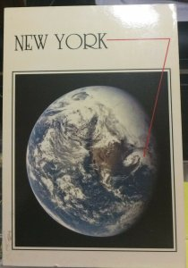 United States New York NASA space - posted 1986