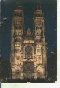 Postal 014695: Catedral de Tours, Francia