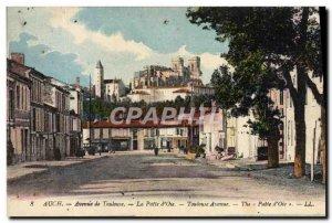Old Postcard Auch Avenue Toulouse Patte d & # 39Oie