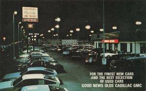 Salisbury MD Good News Olds Cadillac GMC Dealership Postcard