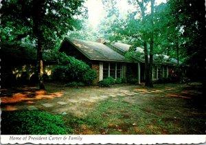 Georgia Plains Home Of President Carter and Family
