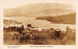 RPPC Hobart, From Bellerive, Tasmania, Australia 1925 Vintage Postcard