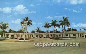Ok Chobee Motel, Clewiston, PL, USA Motel Hotel Postcard Post Card Old Vintag...