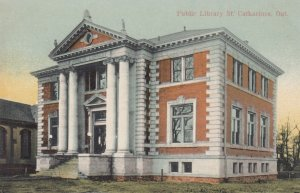 ST. CATHARINES , Ontario , Canada , 1900-10s ; Public Library #2