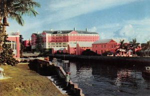 Bermuda Post card Old Vintage Antique Postcard The Princess Hotel and Cottage...