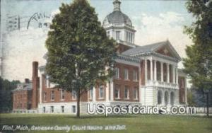 Genesee County Court House Flint MI 1908