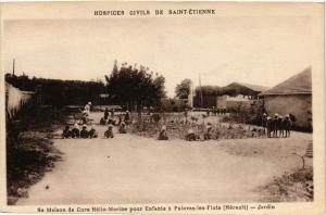 CPA St-ÉTIENNE Maison de Cure Helio-Marine Enfants a Palavas-les-Flots (401883)