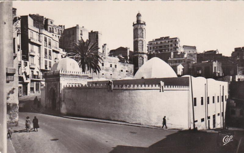 RP: ORAN , Algeria , La Mosquee du Pacha , 30-40s