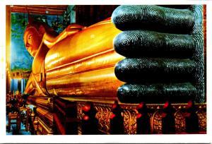Thailand Bangkok Reclining Buddha At Wat Pho