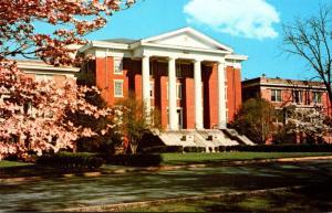 North Carolina Louisburg Springtime At Louisburg College