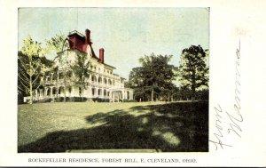 Ohio East Cleveland Forest Hill Rockefeller Residence