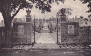 New York Millbrook Tribute Garden The Entrance Albertype