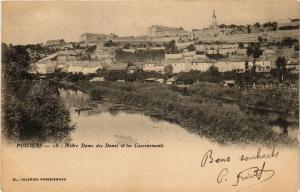CPA POITIERS - N.-D. des Dunes et les Casernements (255708)