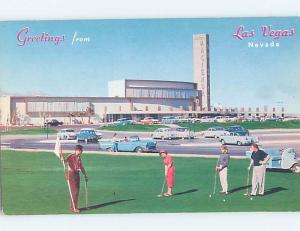 Pre-1980 GOLFING - GOLF COURSE AT HACIENDA CASINO HOTEL Las Vegas NV B2148