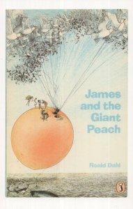 James & The Giant Peach Roald Dahl 1980 Puffin Book Postcard