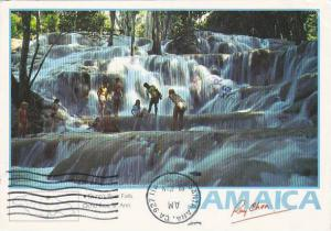 Jamaica Dunn's River Falls Ocho Rios St Ann