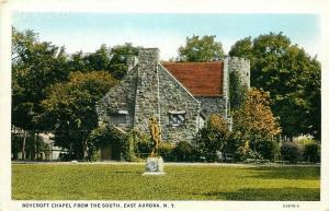 NY, East Aurora, New York, Roycroft Chapel, Tichnor No. 53635-C