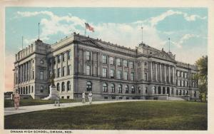 OMAHA , Nebraska , 1910s ; Omaha High School