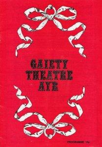 Christian Scottish Entertainer The Osmonds Ayr Theatre Programme