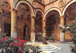 Italy Firenze Palazzo Vecchio Il Cortile The Courtyard Der Hof