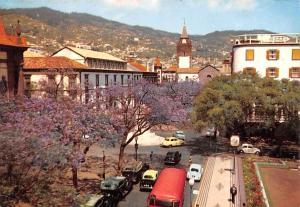 Portugal Old Vintage Antique Post Card Vista da Se Catedral Funchal, Madeira ...
