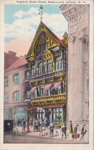 New York Albany Keelers State Street Restaurant 1905