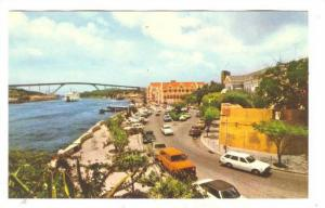 Entrance to Williemstad, Fort Amsterdam, Capital of Curacao, Netherlands Anti...