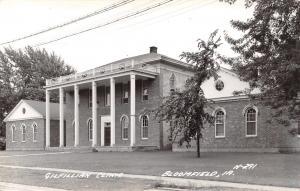 Bloomfield Iowa~Gilfillan Memorial Diagnostic Clinic~1950 Real Photo~RPPC