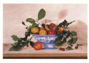 Still Life - Fruit in Blue Willow by Patrick Farrell