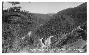 Flagstaff Arizona Frasher Oak Creek Canyon 1940s RPPC Photo Postcard 2150