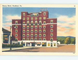 Linen HOTEL SCENE Bradford Pennsylvania PA H0225