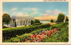 Nebraska Omaha Mount Vernon Gardens Curteich