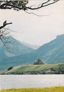 The Prince Of Wales Hotel, Panoramic View, Waterton Lakes National Park, Wate...