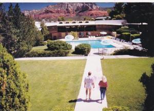 Arizona Sedona Quality Inn Kings Ransom Motor Hotel 1992