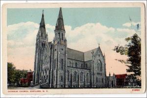 Catholic Church, Cortland NY