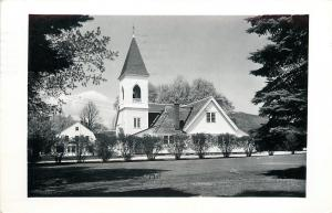 North Conway New Hampshire~Congregational Church RPPC 1957