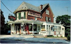 GETTYSBURG, PA Pennsylvania  DUTCH CUPBOARD Restaurant 1967 Roadside  Postcard