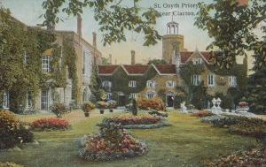 St Osyth Priory 1916 Clacton On Sea Wartime Postcard