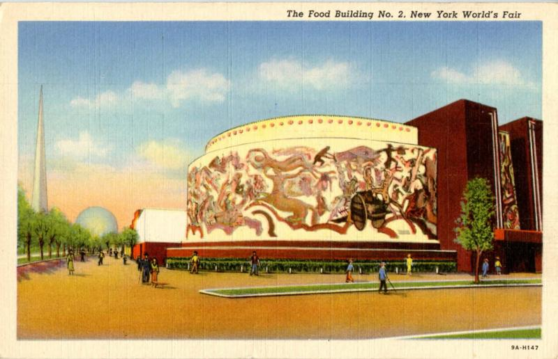 NY - New York World's Fair, 1939. Food Building #2