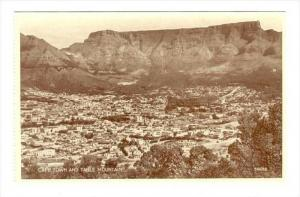 Cape Town & Table Mountain, Cape Town, South Africa, 1900-1910s