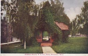 Michigan Petoskey Summer House G R & I Park 1908