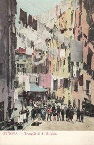GENOVA, Liguria, Italy, 1900-1910's; Truogoli di S. Brigida